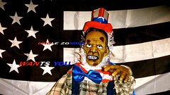NEW VIDEO: UNCLE ZOMBIE (TrackHead Studios) Tags: usa halloween funny fireworks zombie flag flags spooky funnysigns adamhall happyhalloween usflag madeintheusa trackhead trackheadstudios trackheadxxx
