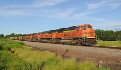 BNSF 9177 (Henry Carney) Tags: empties bnsf westbound 6304 coaltrain 9177 9213 sd70ace es44ac brainerdsub