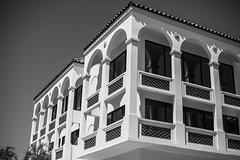 IMG_5963 (zumponer) Tags: blackwhite florida windows reflection palmbeach summer sun urban worthave fullframe dslr canon canon5dmarkii 50mm