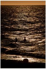 Midnight swim. (sdupimages) Tags: mer lumires lowkey bain sea midnight swim