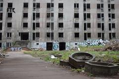 Desolation in Berlin Lichtenberg (baurichter) Tags: berlin monument concrete plattenbau ddr derelict gdr urbanexploring urbex wollenbergerstrasse