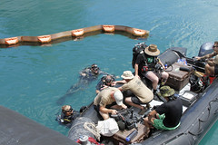160720-A-ZQ422-019 (8th Theater Sustainment Command) Tags: army pacific hawaii oahu jointbasepearlharborhickam jbphh rimofthepacific rimpac 8ththeatersustainmentcommand 8thtsc 7thengineerdivedetachment 7thedd canada divers sidescansonar sss
