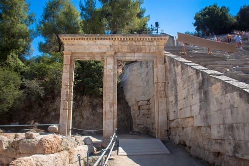 Parados, Epidaurus