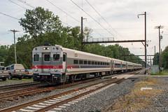 SEPTA Train 6352 @ Yardley, PA (Dan A. Davis) Tags: septa aem7 pushpull passengertrain railroad locomotive train yardley pa pennsylvania