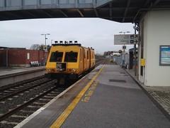Irish Rail Track Recording Vehicle 700 Midleton. (Roche B10M VanHool) Tags: irish track rail vehicle 700 recording midleton
