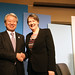 Miss. Helen Clark and JICA President, Mr. Akihiko Tanaka