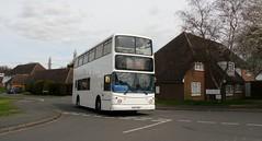 Squeezy 489 (bobsmithgl100) Tags: bus surrey alexander dennis trident leatherhead ybr alx400 ku02ybr ku02 route489 busesexcetera levettroad