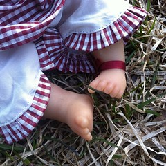 Tiny feet (astrosnik) Tags: baby square doll artist vinyl german squareformat annette kleine kleines lieschen himstedt annettehimstedt iphoneography instagramapp uploaded:by=instagram