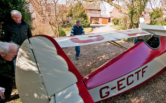 Wing folding...