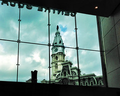 city hall from center square (BlogKing) Tags: window centercity cityhall