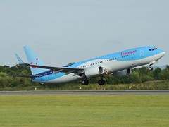 Thomson Airways Boeing 737-8K5/W G-TAWF departing Manchester, 7 August 2014 (Ross Kennedy) Tags: new england sky man southwest west tower english tarmac airplane manchester concrete fly high airport wings holidays europe european northwest britain good euro aircraft altitude aviation air south jets flight eu fast cockpit aeroporto terminal aeroplane landing deck international level airline thomson planes passenger boeing arrival popular departure propeller takeoff runway flights carrier freight mounds flightdeck airliner intl tui turboprop airfield aerodrome winglets fuselage jetliner ringway planespotting 737800 egcc turbojet tailplane turbofan iata icao