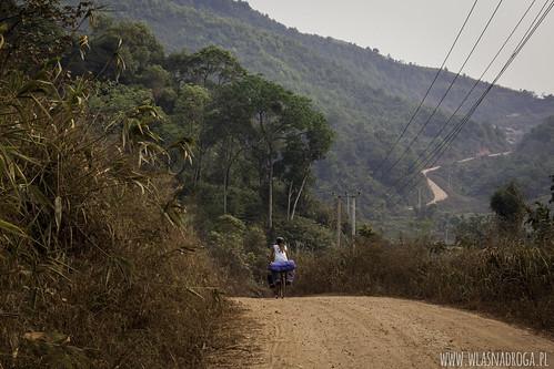 Laotańskie drogi