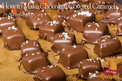 How to Make Chocolate Covered Caramels (Thinkarete) Tags: food dessert candy sweet chocolate nobody sugar desserts gourmet homemade covered sweets diet candies coated indulgence confection nutrition calories dieting sweetener ingredient chocolatecovered chocolatecandy saltedcaramel caramelcandy