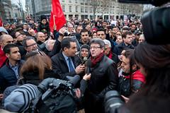 Jean Luc Mlenchon (dprezat) Tags: street paris nikon tunisie manifestation bardo d800  soutien terrorisme attentat rassemblement solidarit   jeanlucmlenchon mlanchon mlenchon nikond800 partidegauche frontdegauche noussommestunisie