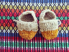 :: for little feet :: ({TheWeightOfDreams}) Tags: toddler handmade small crochet slippers