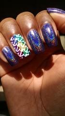 Desafio Ns (L) Estampas- Hologrfico (Jana Frana) Tags: nails stamping nailart esmaltes nailspolish hologrfico esmaltedasemana esmaltebonito esmaltesdakelly