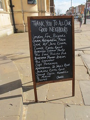 Thank you to all our good neighbours, especially London Fire Brigade. (maggie jones.) Tags: road party london station st four cafe pub power estate jane lavender police el molino oasis labour agent local mp ellison battersea hanne thieves metropolitan johns jacksons bac waterstones the parisienne devas currell
