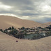The oasis of Huacachina