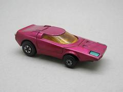 Matchbox Rolamatics (The Moog Image Dump) Tags: pink cars car toy purple fast super 1973 clipper matchbox superfast rolamatics