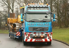Volvo FH 16XL STGO Cat 2 PO61BZX Cranage Heavy Haulage Frank Hilton 23032015 068 (Frank Hilton.) Tags: classic truck frank photos transport hilton lorry trucks bowler windfarms classictruck heavyplant colletts heavyhaulage gillespies westofscotland truckphotos stgocat plantspeed transportphotos frankhilton lorryphotos northwesttrucks frankhilton23032015