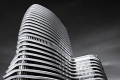 DUO (dirkjandb) Tags: bw architecture duo nederland groningen architectuur unstudio benvanberkel 2011 belastingdienst