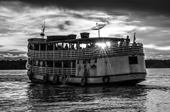 Rio Madeira (felipe sahd) Tags: brasil barcos noiretblanc riomadeira portovelho navegação rondônia 123bw