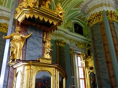 St Petersburg, Peter and Paul Cathedral (wattallan594) Tags: travel st paul europe cathedral russia petersburg baltic peter northern