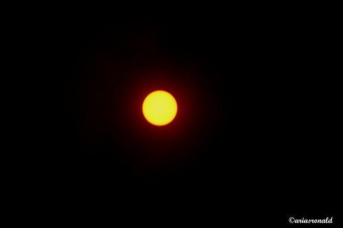 Observación del Sol y Manchas Solares,15 abril 2015, Colegio Humboldt, Costa Rica