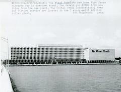 The Miami Herald Building 1963 (Phillip Pessar) Tags: building architecture century photo ebay miami mimo press purchase mid herald 1963 midcentury the nea
