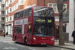 GoAhead London Enviro 400 YX13BJY EH28 in Westminster, 07/04/2015. (MKT Transport Photography) Tags: street london eh westminster ahead go great smith 400 28 alexander dennis 88 common clapham enviro adl bjy goahead yx13 eh28 yx13bjy