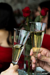 Cheers (lit t) Tags: wedding red toast champagne cheers canon60d terridoaktaylor