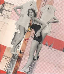 elbow action (kurberry) Tags: collage cutpaste vintagecollage vintageephemera