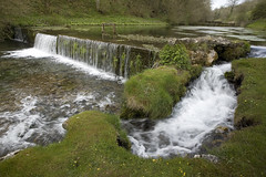 Lathkill Dale (Michael Hopwood) Tags: canon landscape waterfall dale peakdistrict filter lee 5d wier lathkill