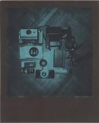 (lengvari) Tags: test film closeup project polaroid 110 gear instant pocket impossible cameraporn 636 greenblack duochrome