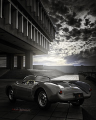 Along came a Spyder (Neil Banich Photography) Tags: cars car automobile porsche artcar porche neilbanichphotograhy picturesporsche spydervintage