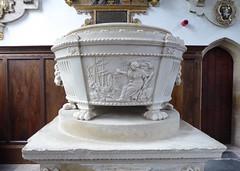 St Nicholas Chapel: memorial to Sir Benjamin Keene, designed by Robert Adam (yellow book) Tags: norfolk lynn northsea kingslynn riverouse greatouse hanseaticleague thewash