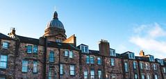 apartments or something (xlowmiller) Tags: city uk sky urban building clouds scotland edinburgh unitedkingdom