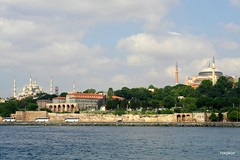 Istanbul:By ferry towards the Princes' Islands. (roxykon) Tags: turkey cityscape islam churches istanbul christianity mosques ottomanempire byzantineempire tamron1750mmf28 pentaxk5