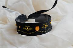 Golden wish (ceressiass) Tags: pet black anime cute shop puppy golden furry kitten soft play cosplay gothic kitty bdsm lolita neko etsy elegant collar nekollars