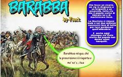 Barabba, chi era costui? Un politico o un brigante? (SatiraItalia) Tags: humor vignette satira