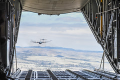 Wyoming National Guard (The National Guard) Tags: usa america training soldier army us force exercise military air united guard wing drop cargo national nationalguard planes soldiers states ng wyoming guardsmen troops wy airlift guardsman airman airmen c130s 153rd wyng