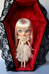Bloody Rose Vampire with display coffin