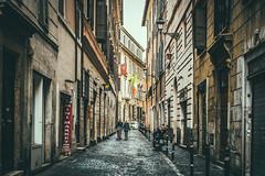 Strada (henrique.stel) Tags: street city urban italy rome roma 35mm europe strada italia perspective fujifilm lightroom xe1 vsco xtrans