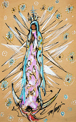 """Our Lady of Guadalupe (DeGrazia Gallery in the Sun) Tags: arizona ted saint architecture mexico artist gallery desert artgallery tucson paintings az exhibit exhibition foundation virgindeguadalupe adobe guadalupe patron degrazia catalinas ettore nationalhistoricdistrict galleryinthesun"