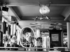 Petit-djeuner - Paris (* Carlus Costa *) Tags: street urban blackandwhite paris blanco photography y negro ibiza amelie eivissa desayuno petitdjeneur carlusibiza