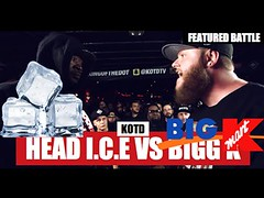 KOTD  HEAD ICE VS BIGG K & DISASTER VS ??? Thoughts... (battledomination) Tags: ice k t one big freestyle king ultimate bigg head pat domination clips battle dot charlie thoughts disaster hiphop vs rap lush smack trex league stay mook rapping murda battles rone the conceited  charron saurus arsonal kotd dizaster filmon battledomination