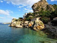 Scopello (Gaetano Camiciotto) Tags: sea canon mare sicily sicilia scopello tonnara seawview