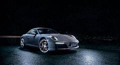 Porsche 911 (Matikuki) Tags: chile city santiago 3 lightpainting cars rain night noche lluvia nikon foto iii wheels stock 911 ciudad porsche plus info softbox carreras carrera fotografa pocketwizard plus3 strobist sb900 yongnuo d7000 yn460 yn460ii plusiii