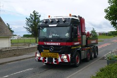 Mammoet (A9 AWM) Tags: mammoet brora heavyhaulage mercedes