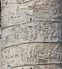 Trajan's Column (Sharaz Jek) Tags: italy rome roma italia romanempire trajanscolumn dacianwars travelphotography emperortrajan romantriumphalcolumn